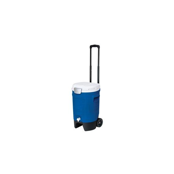 Køle og drikkebeholder med transport - 18,9 liter