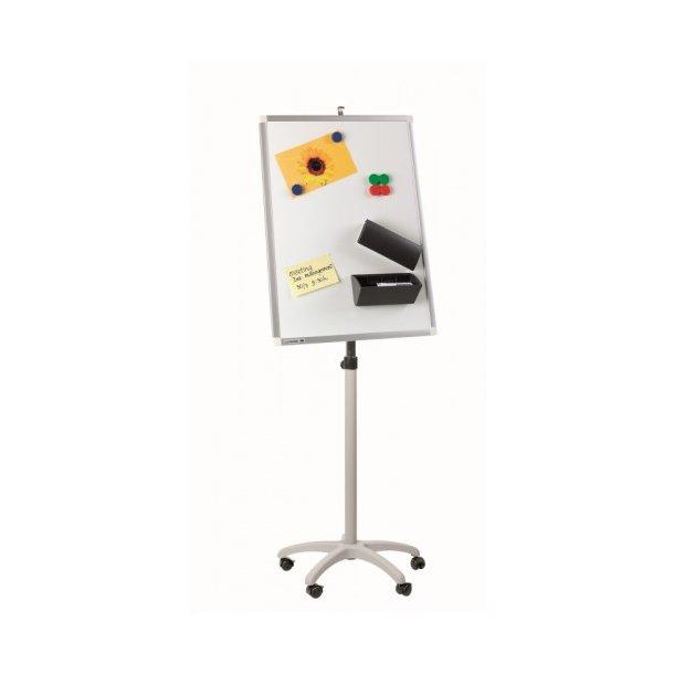 Stativ på hjul til whiteboardtavler