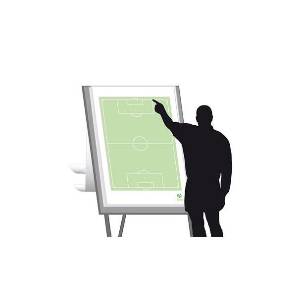 Flipoverpapir - fodbold