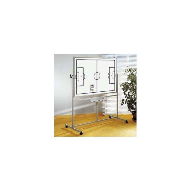 Whiteboardtavle med fodbold eller håndbold bane - mobil (Str. 100x150 )