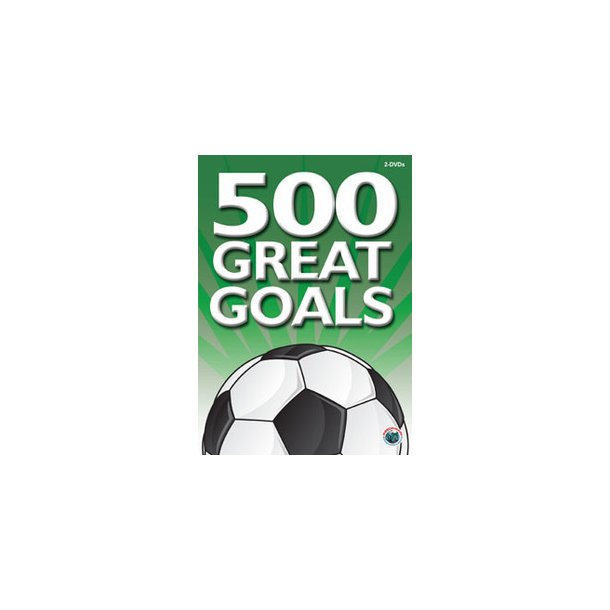 500 mål - mega målshow 2 stk DVD